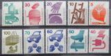 Poštovní známky Německo 1971-73 Prevence nehod Kat 11€