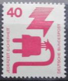 Poštovní známka Německo 1972 Prevence nehod Mi# 699 A