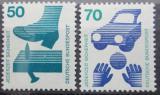 Poštovní známky Německo 1973 Prevence nehod Mi# 700,773 Kat 4€