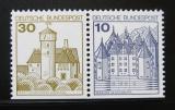 Poštovní známky Německo 1977 Hrady a zámky
