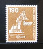 Poštovní známka Německo 1982 Bagr Mi# 1136