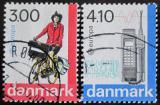 Poštovní známky Dánsko 1988 Evropa CEPT Mi# 921-22