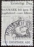 Poštovní známka Dánsko 2000 Noviny z roku 1945 Mi# 1255