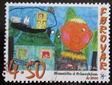 Poštovní známka Faerské ostrovy 2000 Dětská kresba Mi# 369