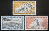 Poštovní známky Československo 1960 LOH Řím Mi# 1206-08 Kat 6.50€