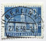 Poštovní známka Západní Berlín 1957 Charlottenburg Mi# 149 Kat 10€