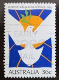 Poštovní známka Austrálie 1986 Mezinárodní rok míru Mi# 1004
