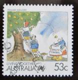 Poštovní známka Austrálie 1988 Zemědělství Mi# 1088