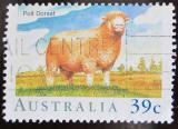 Poštovní známka Austrálie 1989 Ovce Mi# 1147