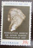 Poštovní známka Austrálie 1989 Sir Henry Parkes Mi# 1138