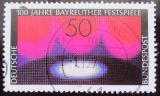 Poštovní známka Německo 1976 Festival, Bayreuth Mi# 896