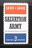 Poštovní známka USA 1965 Armáda spásy Mi# 883