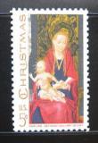Poštovní známka USA 1967 Madona, Hans Memling, vánoce Mi# 937