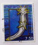 Poštovní známka Faerské ostrovy 2002 Polycera faeroensis Mi# 419