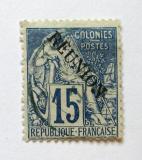 Poštovní známka Reunion 1891 Obchod Mi# 22
