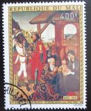 Poštovní známka Mali 1974 Umění, Schongauer, vánoce Mi# 466