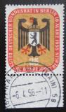 Poštovní známka Západní Berlín 1956 Městský znak Mi# 137 Kat 5€