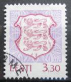 Poštovní známka Estonsko 1996 Státní znak Mi# 289
