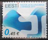 Poštovní známka Estonsko 2012 Sčítání lidu Mi# 720