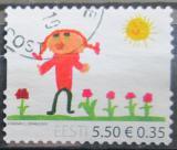 Poštovní známka Estonsko 2010 Dětská kresba Mi# 667
