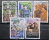 Poštovní známky Austrálie 2008 ANZAC Den Mi# 2994-98