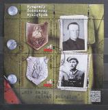 Poštovní známky Polsko 2017 Hrdinové odboje Mi# Block 259 Kat 8.40€