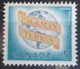 Poštovní známka Kanada 1964 Světový mír Mi# 360
