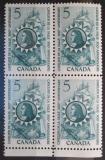 Poštovní známky Kanada 1966 René Robert Cavelier čtyřblok Mi# 390