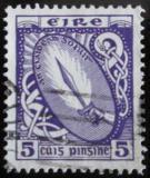 Poštovní známka Irsko 1966 Meč světla Mi# 87 D