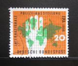 Poštovní známka Německo 1956 Mezinárodní policejní výstava Mi# 240