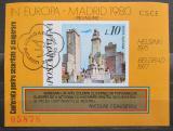 Poštovní známka Rumunsko 1980 Madrid Mi# Block 175 Kat 15€