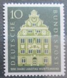 Poštovní známka Německo 1957 Wurttemberský sněm Mi# 279