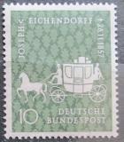 Poštovní známka Německo 1957 Dostavník Mi# 280