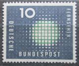 Poštovní známka Německo 1957 Televize Mi# 267