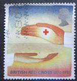 Poštovní známka Velká Británie 1995 Červený kříž, 125. výročí Mi# 1571