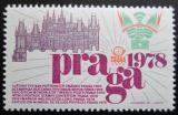 Výstavní zálepka Československo 1978 Výstava Praga