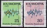 Poštovní známky Německo 1972 Evropa CEPT Mi# 716-17