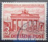 Poštovní známka Západní Berlín 1949 Brandenburská brána Mi# 59 Kat 20€