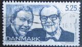 Poštovní známka Dánsko 1999 Herci, komedianti Mi# 1217