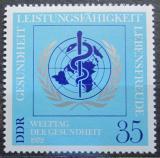 Poštovní známka DDR 1972 Světový den zdraví Mi# 1748