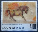Poštovní známka Dánsko 2000 Umění, Kurt Trampedach Mi# 1261
