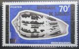 Poštovní známka Džibutsko 1977 Mušle přetisk Mi# 187 Kat 8€