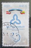 Poštovní známka Estonsko 2016 Baltská smlouva Mi# 874