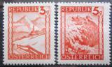 Poštovní známky Rakousko 1947 Přírodní scenérie Mi# 838-39