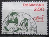 Poštovní známka Dánsko 1982 Kresba, Robert Storm Petersen Mi# 765