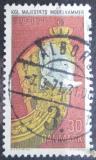 Poštovní známka Dánsko 1970 Námořnické muzeum, 300. výročí Mi# 496