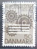 Poštovní známka Dánsko 1973 Pracovní prostředí Mi# 541