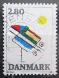 Poštovní známka Dánsko 1987 Moderní umění Mi# 901
