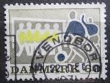 Poštovní známka Dánsko 1971 Fotbal Mi# 516