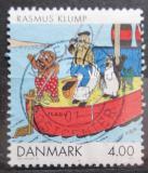 Poštovní známka Dánsko 2002 Komiksové postavičky Mi# 1299